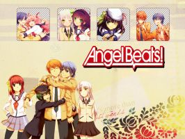 Angel Beats Render Pack by NikkieAmour