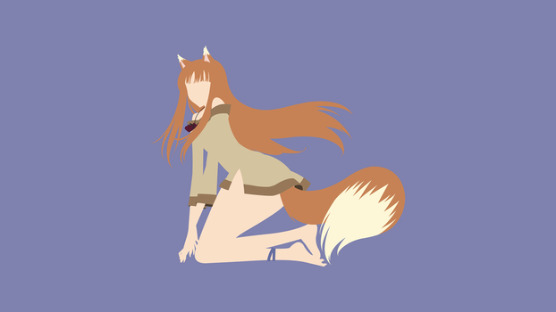 Holo (Spice and Wolf) Minimalistic by Ancors
