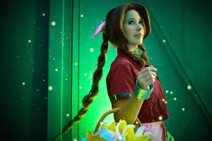 Final Fantasy VII: Aerith Gainsborough II by DidsRainfall