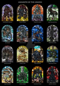 Memento of the Colossi - All16 by Merinid-DE