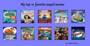 My Top 10 Favorite Movie Sequels by Toongirl18