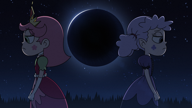 Luna and Meteora, the Lonely Half-Sisters by jgss0109