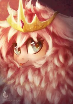 Princess Fluffle Puff by Wilvarin-Liadon