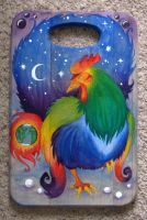 Celestial Space Rooster by Voodoofish