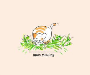 #18 Mama Momoko - Lawn mowing by travelie
