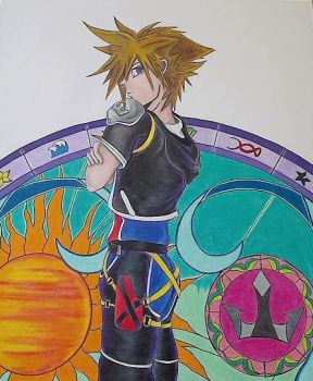 KH Stained Glass Top by RaveFoeSeeker