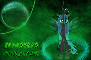 Chrysalis Wallpaper by MusicPulsePony