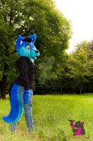 Standing proud by FurryFursuitMaker