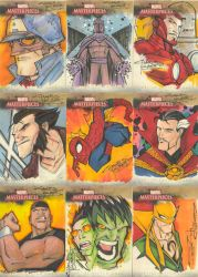 Marvel Masterpieces II set 1 by KidNotorious