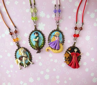 Tangled Cameo Collection by LittleBreeze