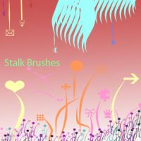 Stalk Brushes New Set1 by KaiPrincess