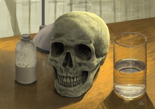 Painting practice Still life by AkuleArt