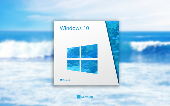 [Design] Windows 10 Retail Box by p0isonParadise
