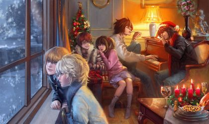 Auld lang syne by RikaMello