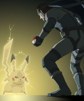 Snake gets Pikachu, almost by doubleleaf