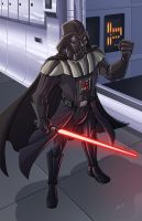 Darth Vader by natelovett