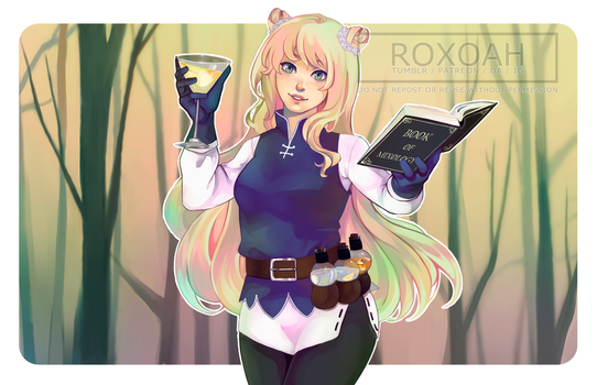 Commission: Aro-chan by Roxoah