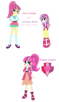 Sour Sweet and Sweetie Belle Fusion by BerryPunchrules