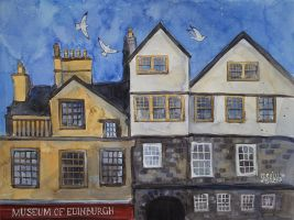 Edinburgh by AnnWeaver