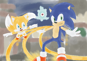 Sonic Colors :D by Amalika