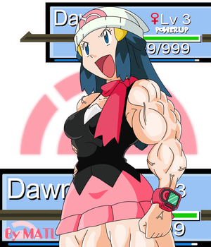 Dawn 'Power Up Lv 3' by MATL