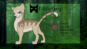 Littlefang Reference Sheet by ChikkiArts