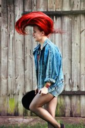 Red-haired by aleksandrawolny
