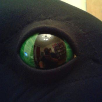 Toothless Eye for SunnyCon 2015 by BigMamaBear