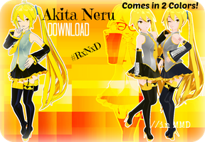RxNxD Akita Neru .:DOWNLOAD:. by RinXNeruXD