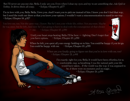 Eclipse: Jacob Black Heartache by Odie-Farber