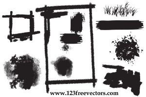 Vector Grunge Element by 123freevectors