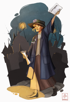 Suffragette by Pikeperch9