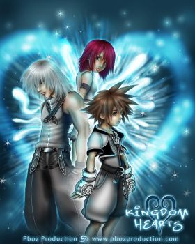 KINGDOM HEARTS by pbozproduction