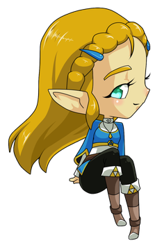 Zelda chibi! by Z-Graves