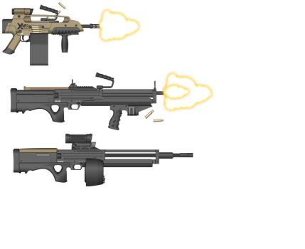 MG weapon pack by Arbiter-dstryr-reach