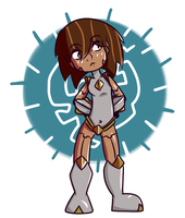 Girl robot by YSolaire