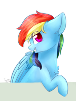 Rainbow Dash by TwinkePaint