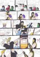 Mortal Kombat Comic 27 by SeSerkku