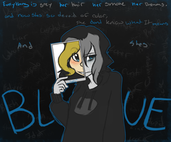 Blue by SlyCatDesigns