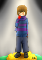 [AT] Siblingtale Frisk by katta--chan