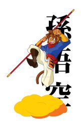 Sun Wukong by chbgraphics