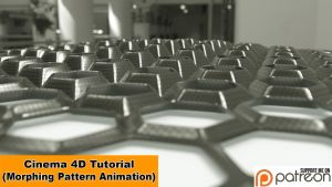 Morphing Pattern Animation (Cinema 4D - Tutorial) by NIKOMEDIA