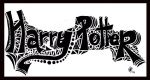 Harry Potter complete typography hand drawn scan. by Lilithia