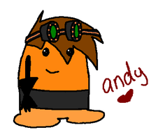 andy in homestar runner by Nat-Skellington