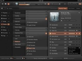 iPad Music App by dannyknaack