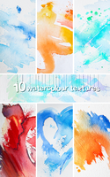 Watercolour Texture Pack by landkeks-stock