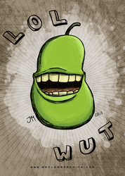 Pear by godlessmachine