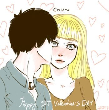 Happy Valentine's day!!! by LadyinGreen7