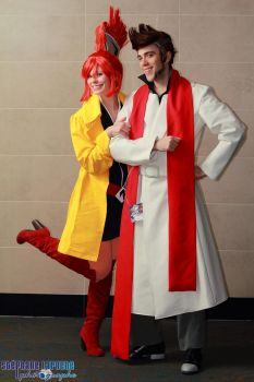 Cabanella and Lynne - Ghost Trick - G-Anime 2013 by PA-X
