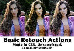 Basic Retouch Actions by sd-stock